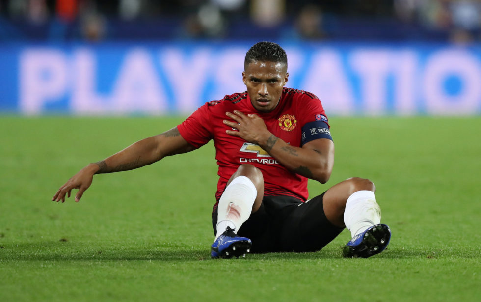 Antonio Valencia is one of Manchester United's greatest ever defenders