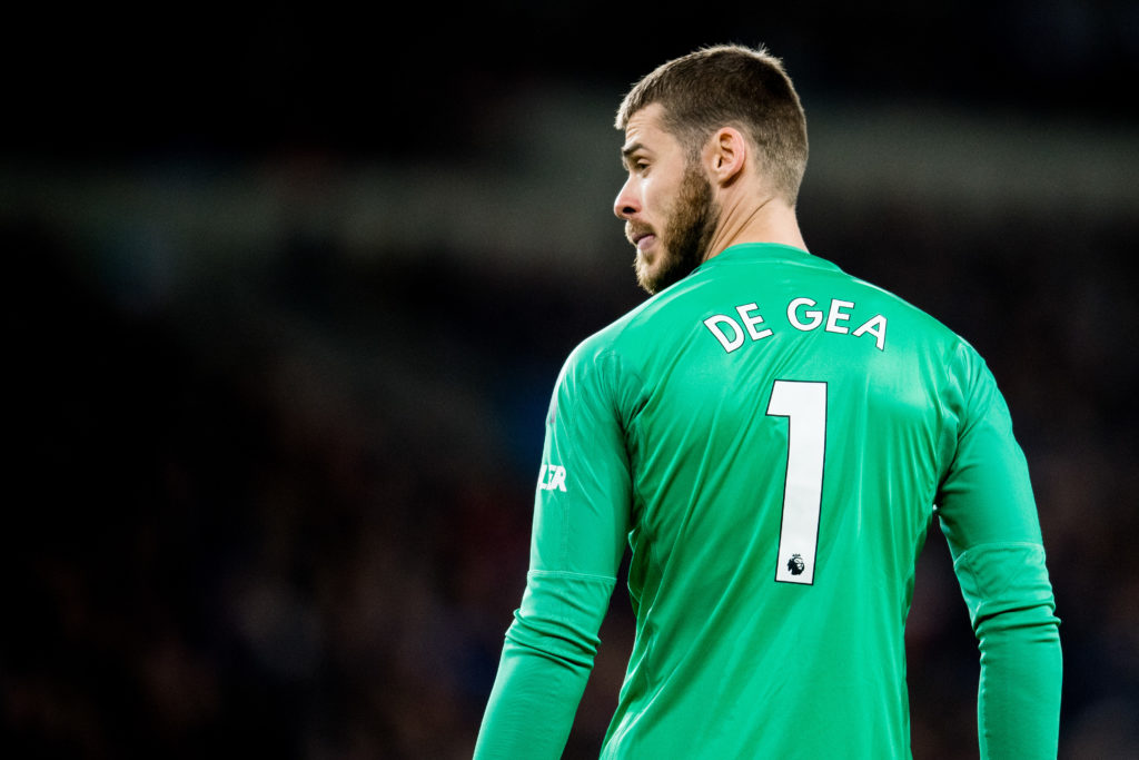 Top five highest paid Manchester United players 2019 David De Gea