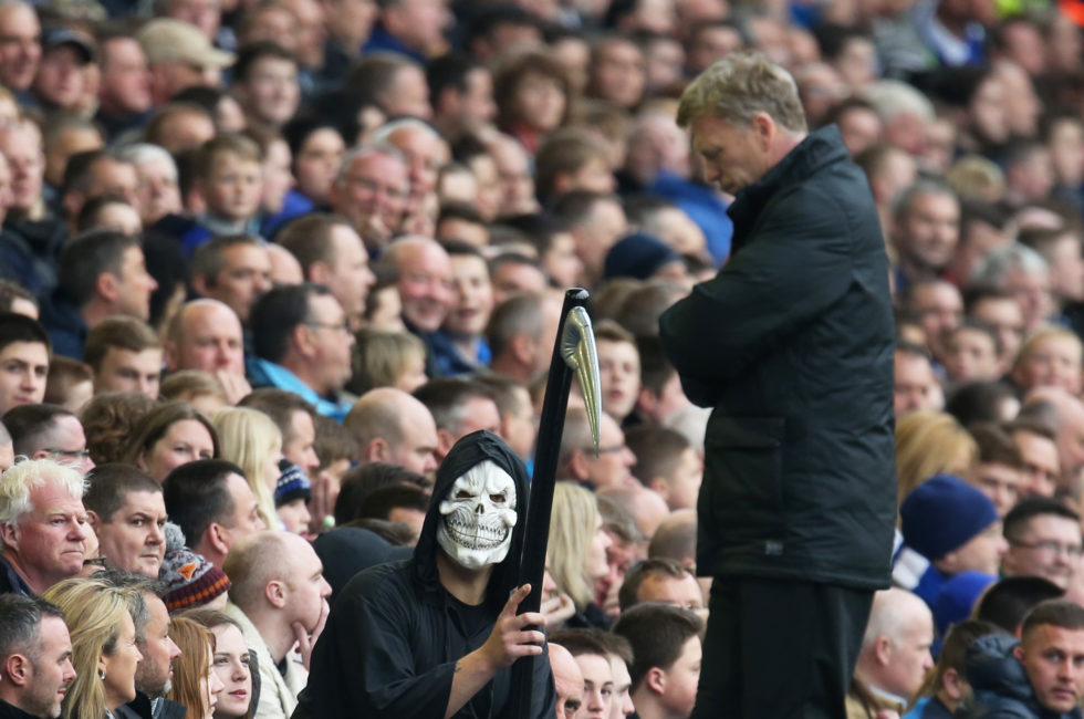 Top Five Manchester United Managers With Best Win Percentage David Moyes