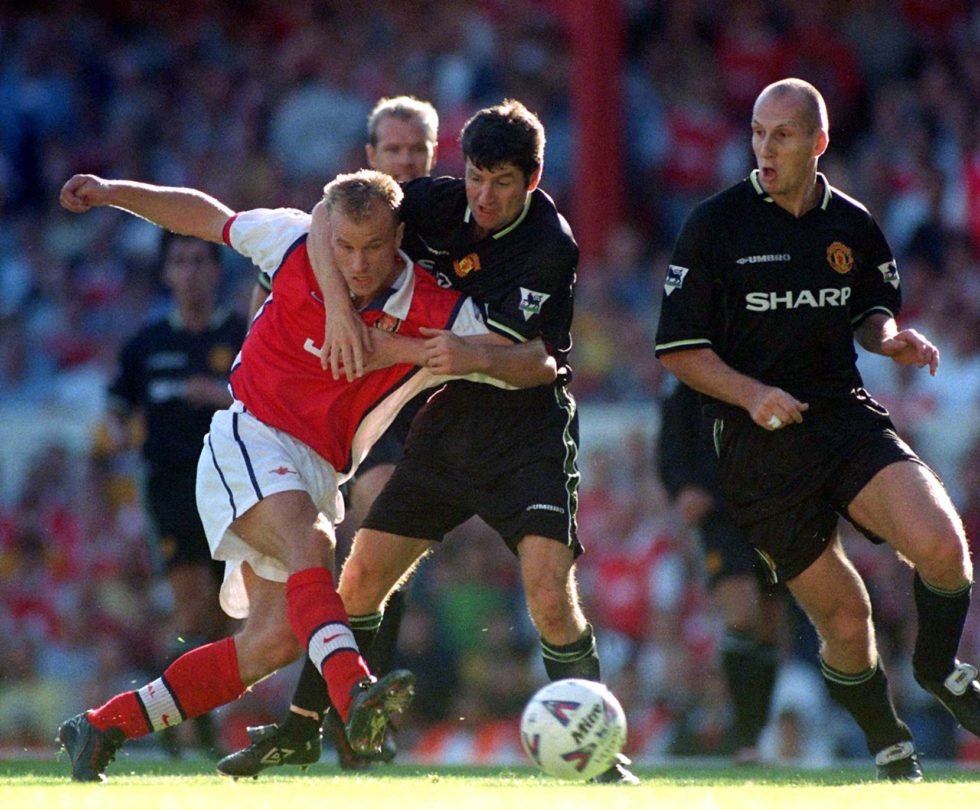 Dennis Irwin is one of the best Manchester United left-backs ever