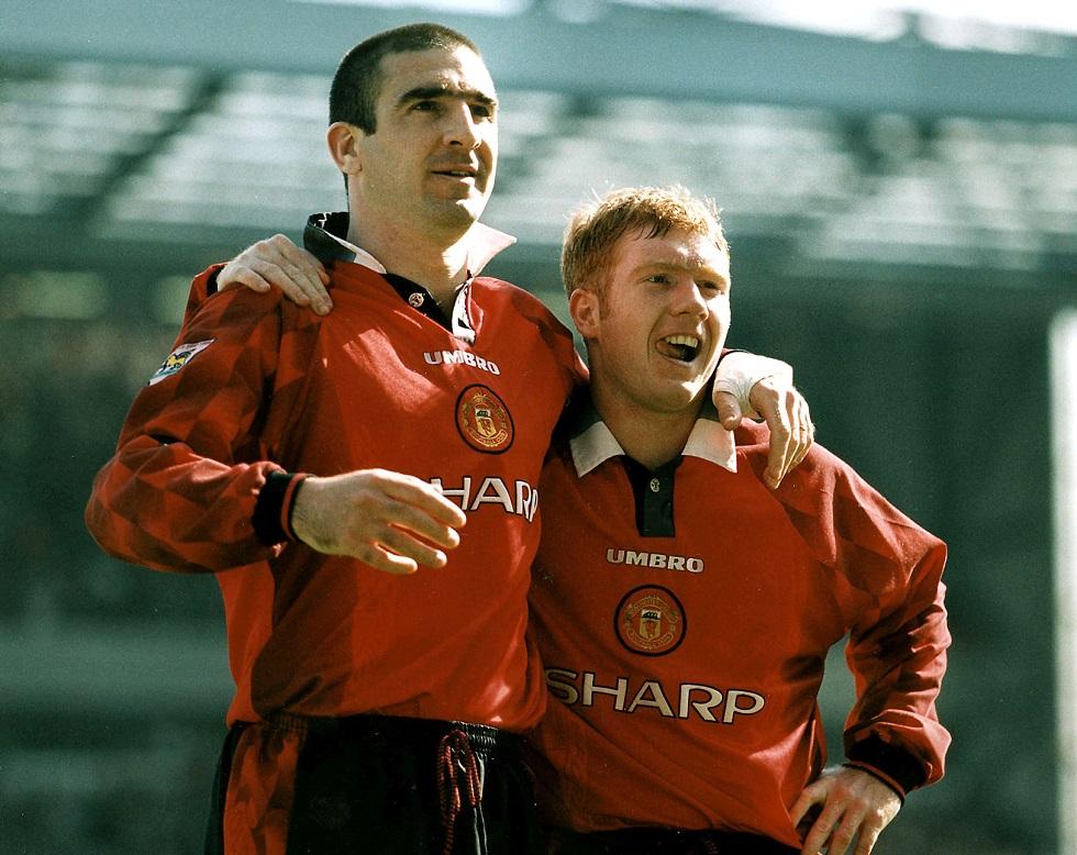 Eric Cantona Manchester United Attire 1996-97