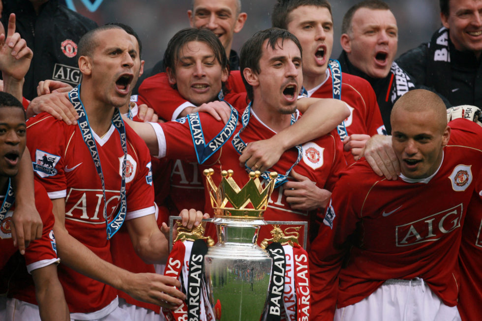Gary Neville is one of Manchester United's greatest ever defenders