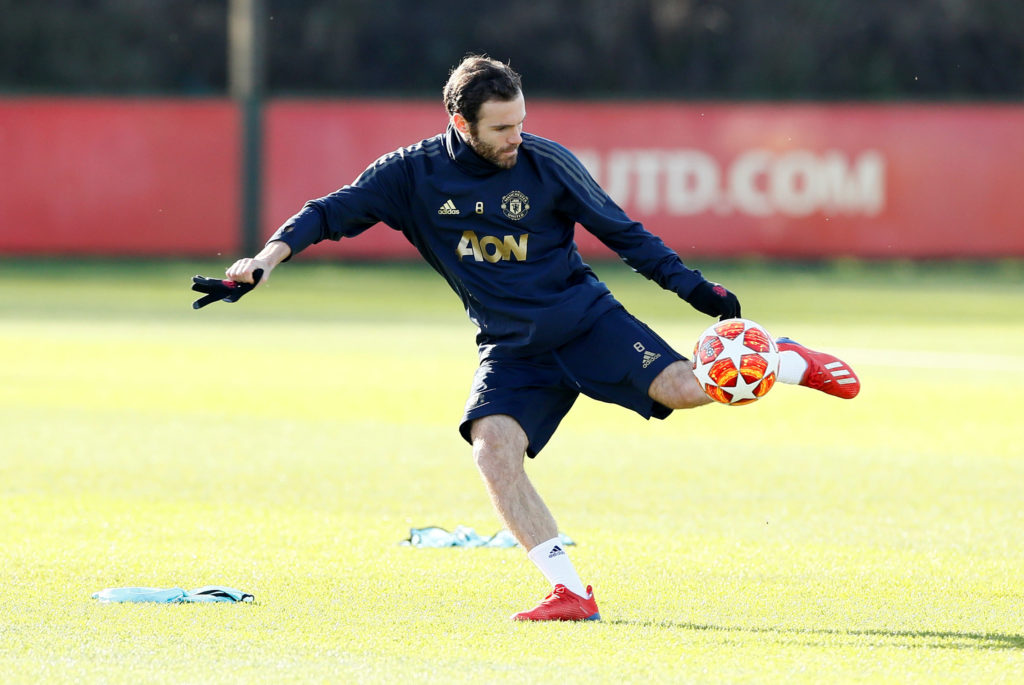 Juan Mata Twitter account