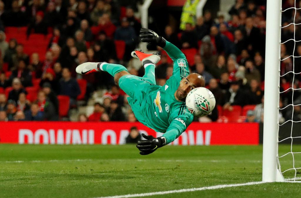 Manchester United Goalkeeper - Lee Grant