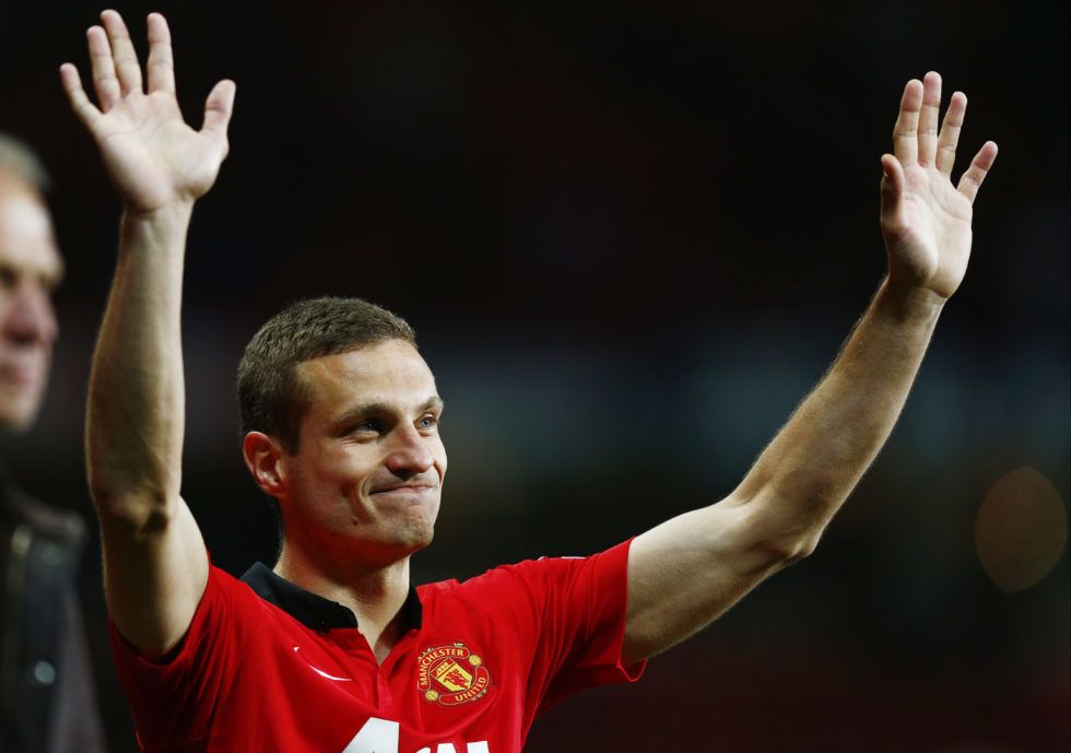 Best Manchester United XI of all time Nemanja Vidic