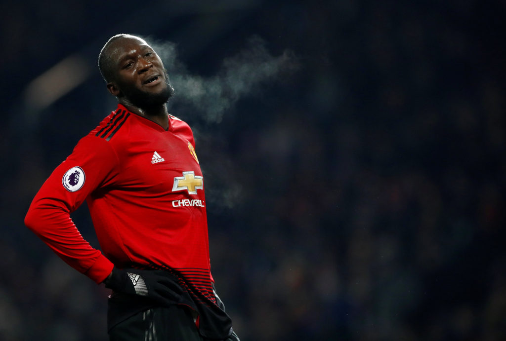 Manchester United FC new signing Romelu Lukaku