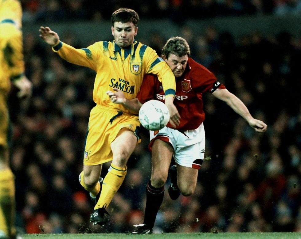 Steve Bruce is one of Manchester United's best centre-backs ever