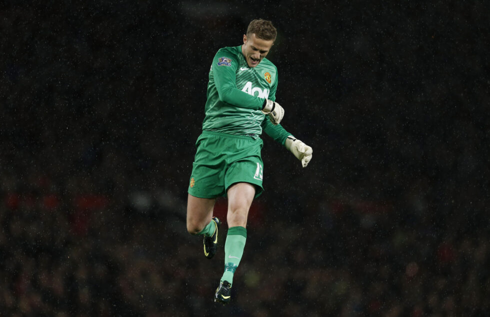 Best Manchester United goalkeepers ever Anders Lindegaard