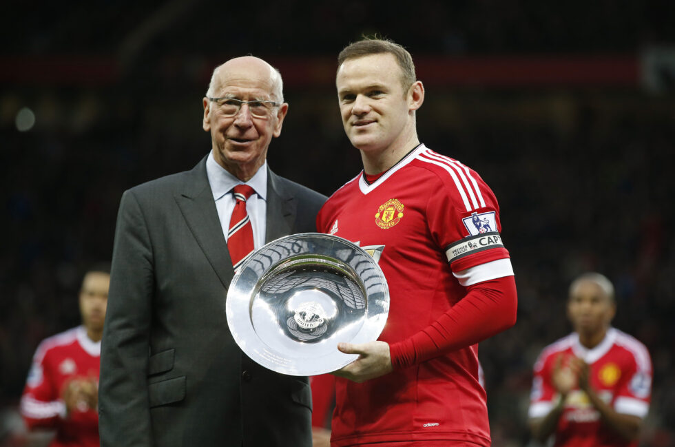 Manchester United Notable captains Bobby Charlton
