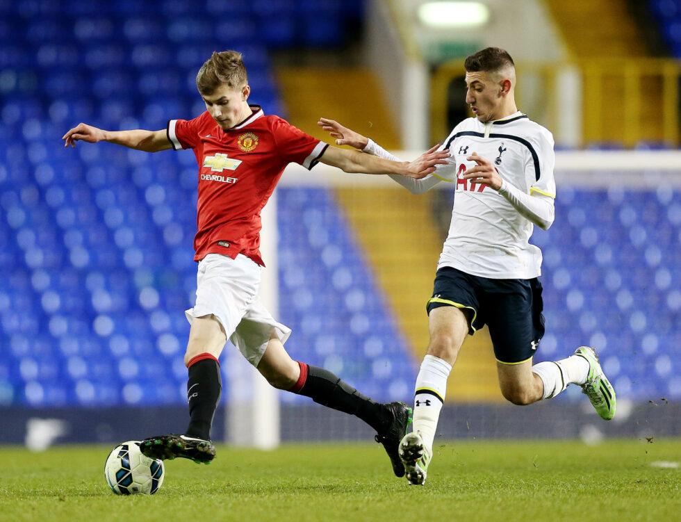Manchester United Team Under-23s Development Squad Callum Gribbin