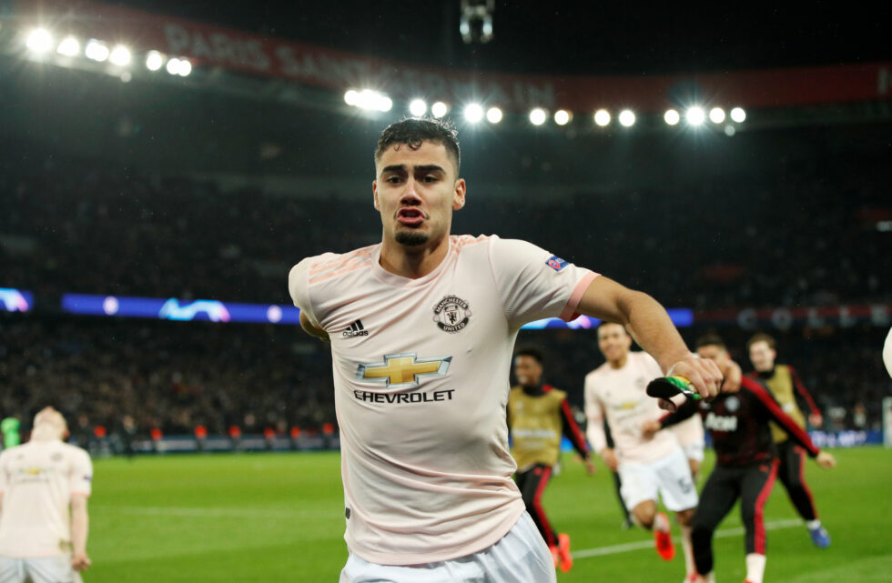 Manchester United Players On Loan Andreas Pereira