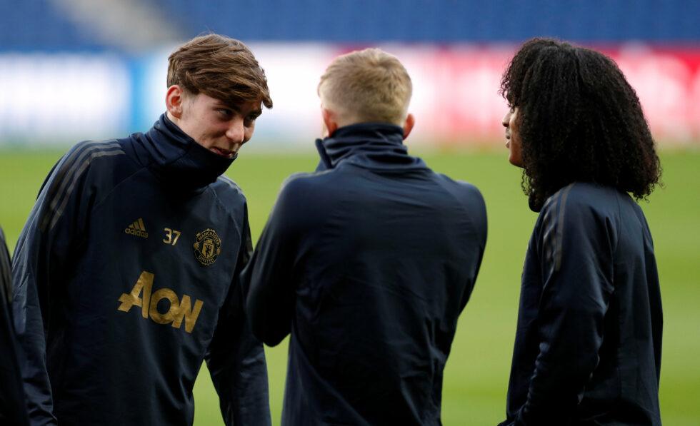 Manchester United Under-18s 2018/2019 James Garner