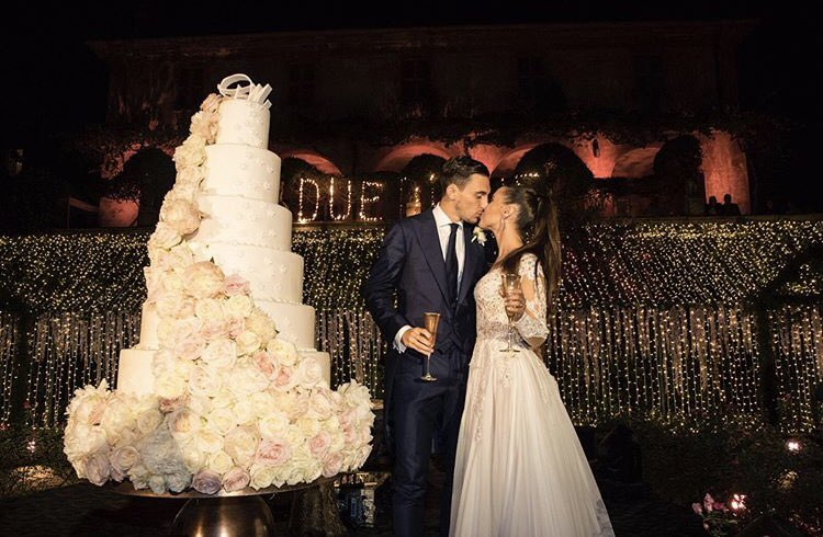 Matteo Darmian Married Francesca Cormanni in 2017