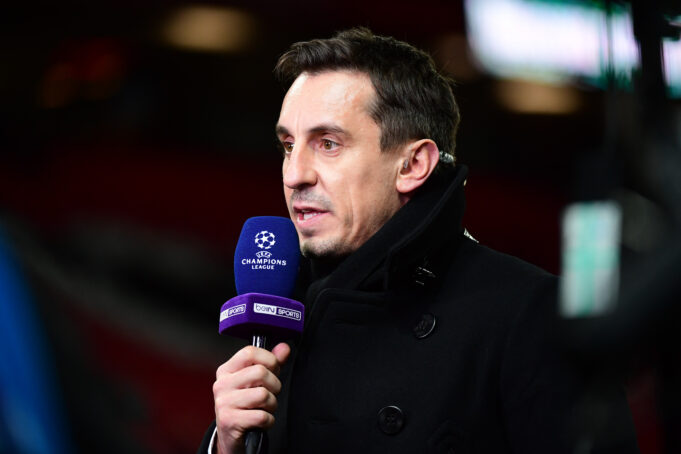 Neville Explains The Real Reason Behind Manchester United's Defeat Against Arsenal