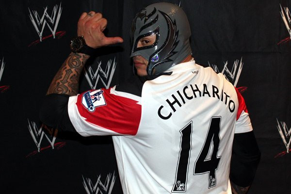 Top 10 Famous Manchester United Fans Rey Mysterio