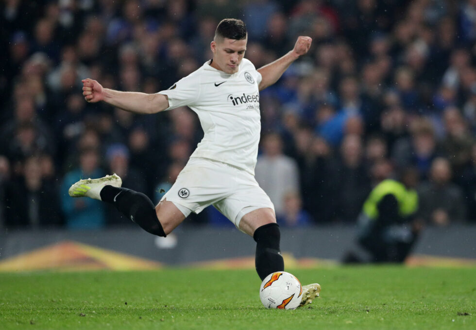 Luka Jovic is one of the top Manchester United summer transfer targets