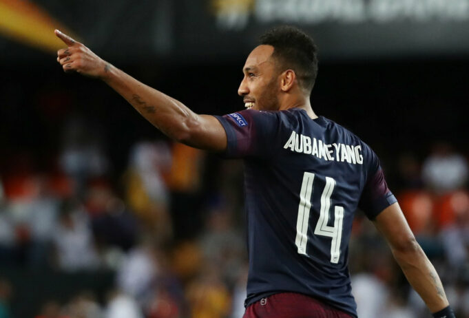 Top Five Strikers Manchester United Could Sign This Summer In 2019 Pierre-Emerick Aubameyang