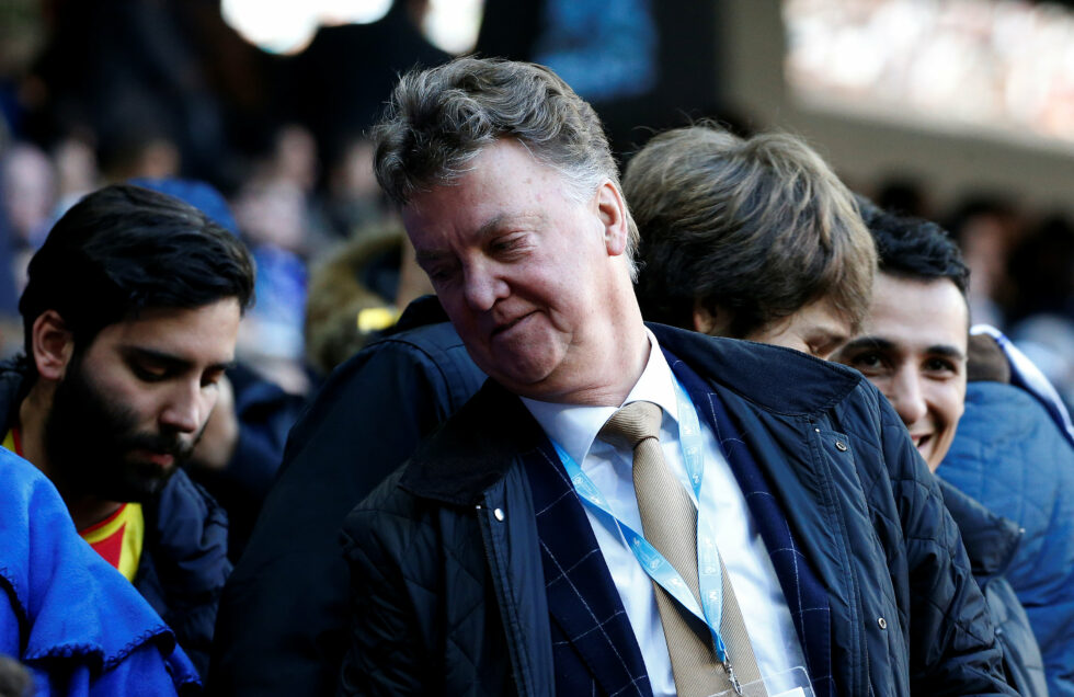 Top Five Manchester United Managers With Best Win Percentage Louis van Gaal