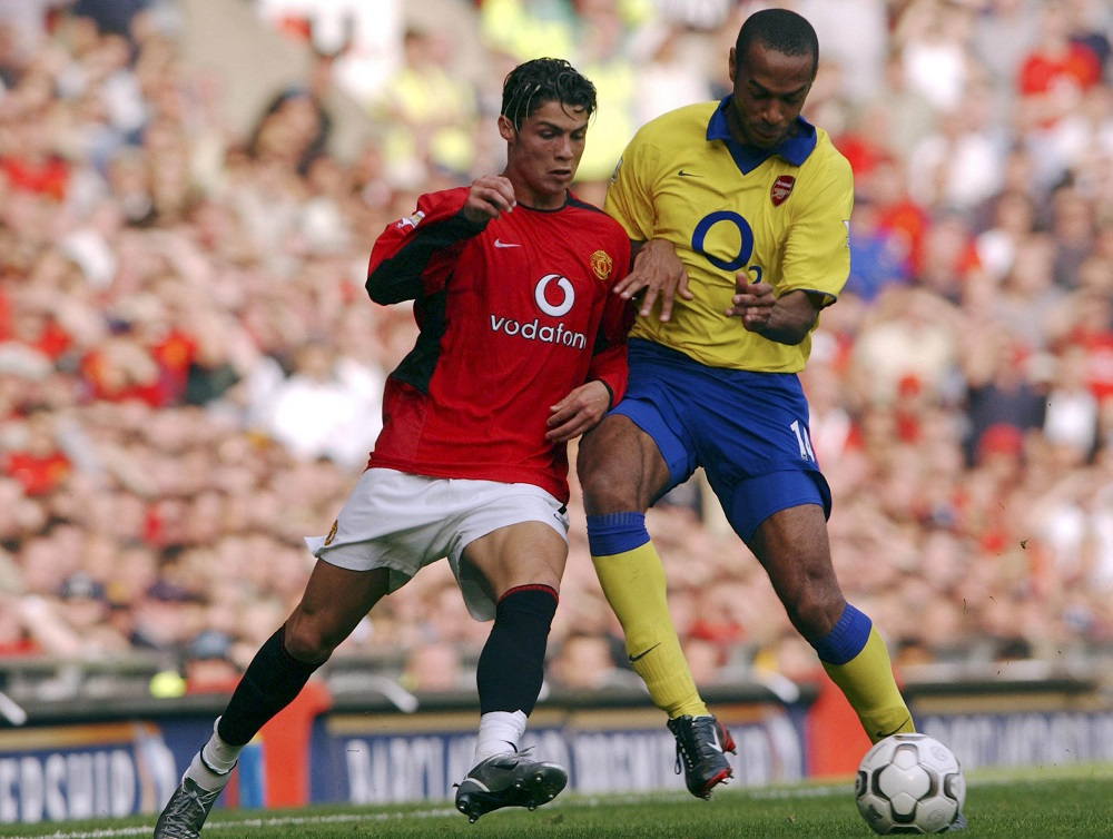 Top 5 Famous Manchester United Players Cristiano Ronaldo