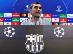Barcelona Aware Of Manchester United's Spirit- Valverde