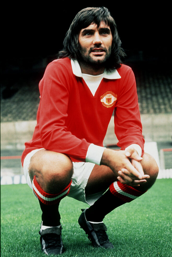 Best Manchester United XI of all time George Best
