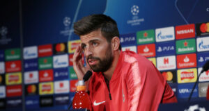 Gerard Pique Insists Manchester United's Result In Paris Is A Worrying Concern For Barcelona