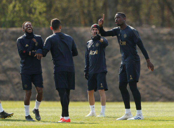 Key Manchester United Players Absent From Training Ahead Of Barcelona Tie