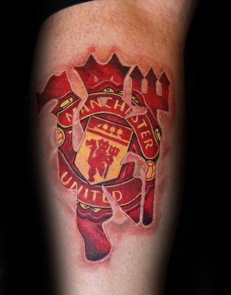 Manchester United Devil Tattoo