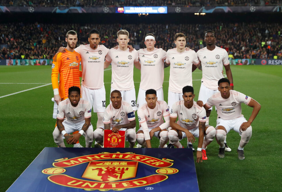 Manchester United First Team 2018-19