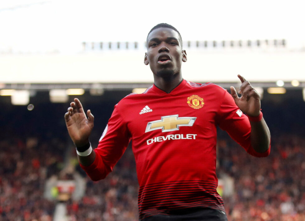 Top five highest paid Manchester United players 2019 Paul Pogba