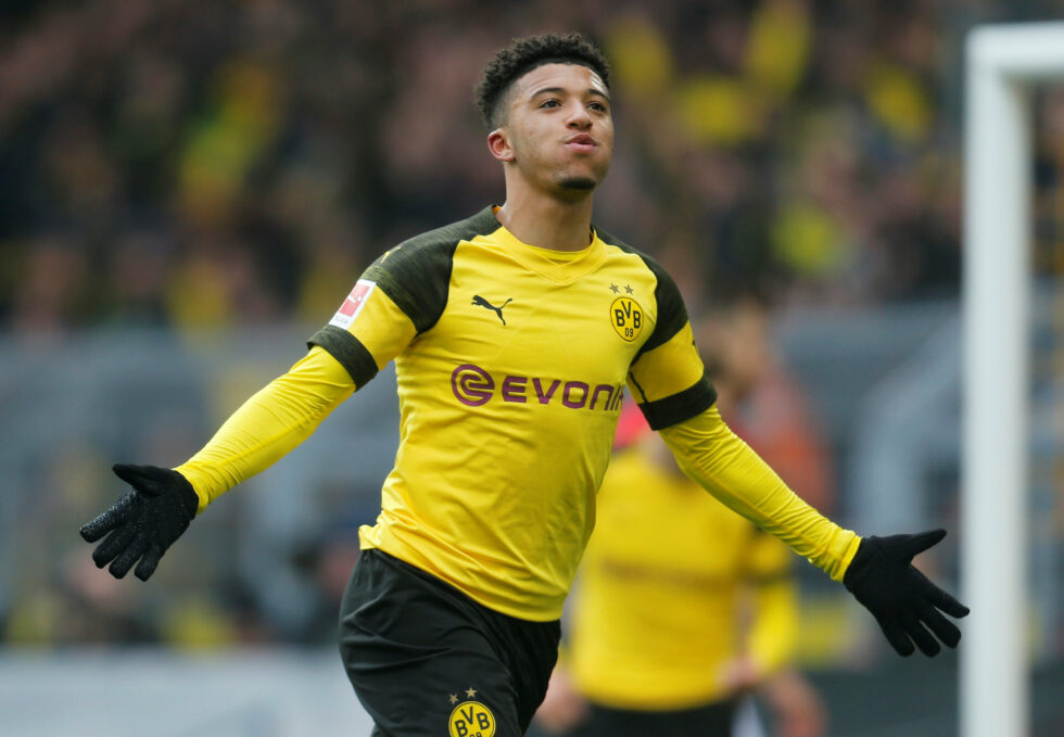 Jadon Sancho is one of the top Manchester United summer transfer targets