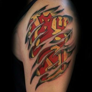 Manchester United tattoo images