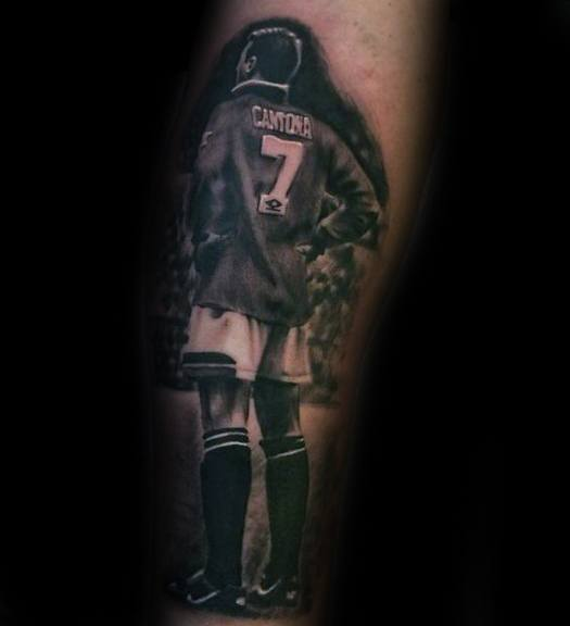 Manchester United tattoos players