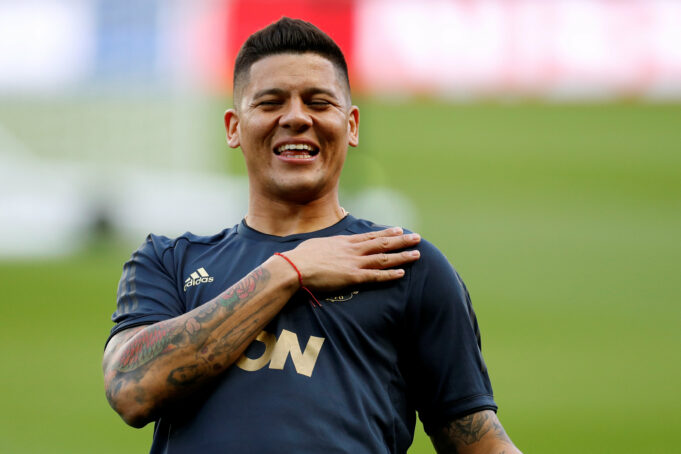 Marcos Rojo Speaks Up On Manchester United's Chances Against Barcelona