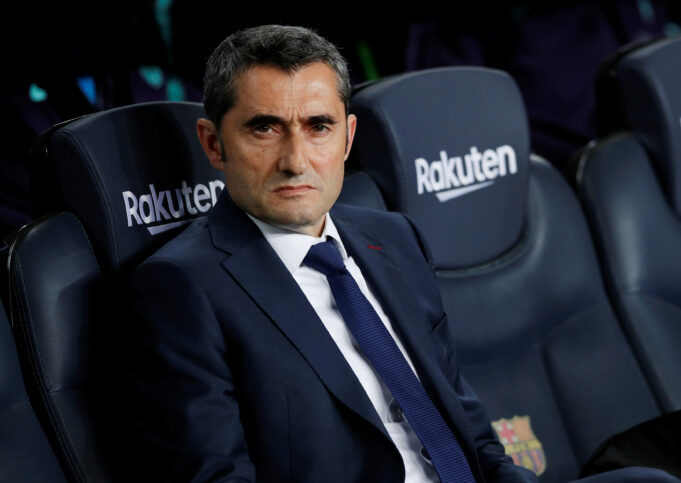 Valverde tells Messi and company to be wary of United