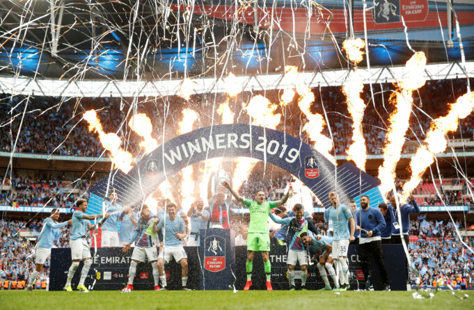 Manchester City Did A Big Favour To Manchester United By Defeating Watford In The FA Cup Final