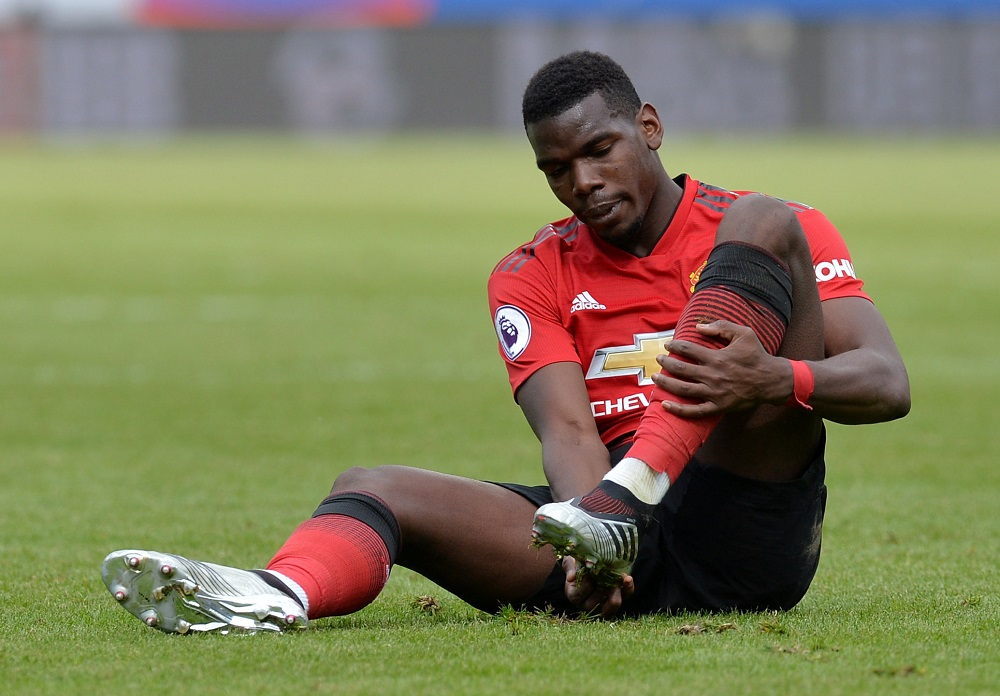 Manchester United reject Real Madrid bid for Paul Pogba
