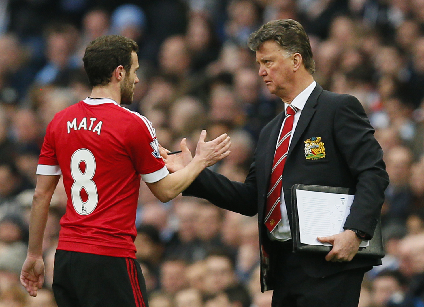Mata reveals Van Gaal's final message to United squad