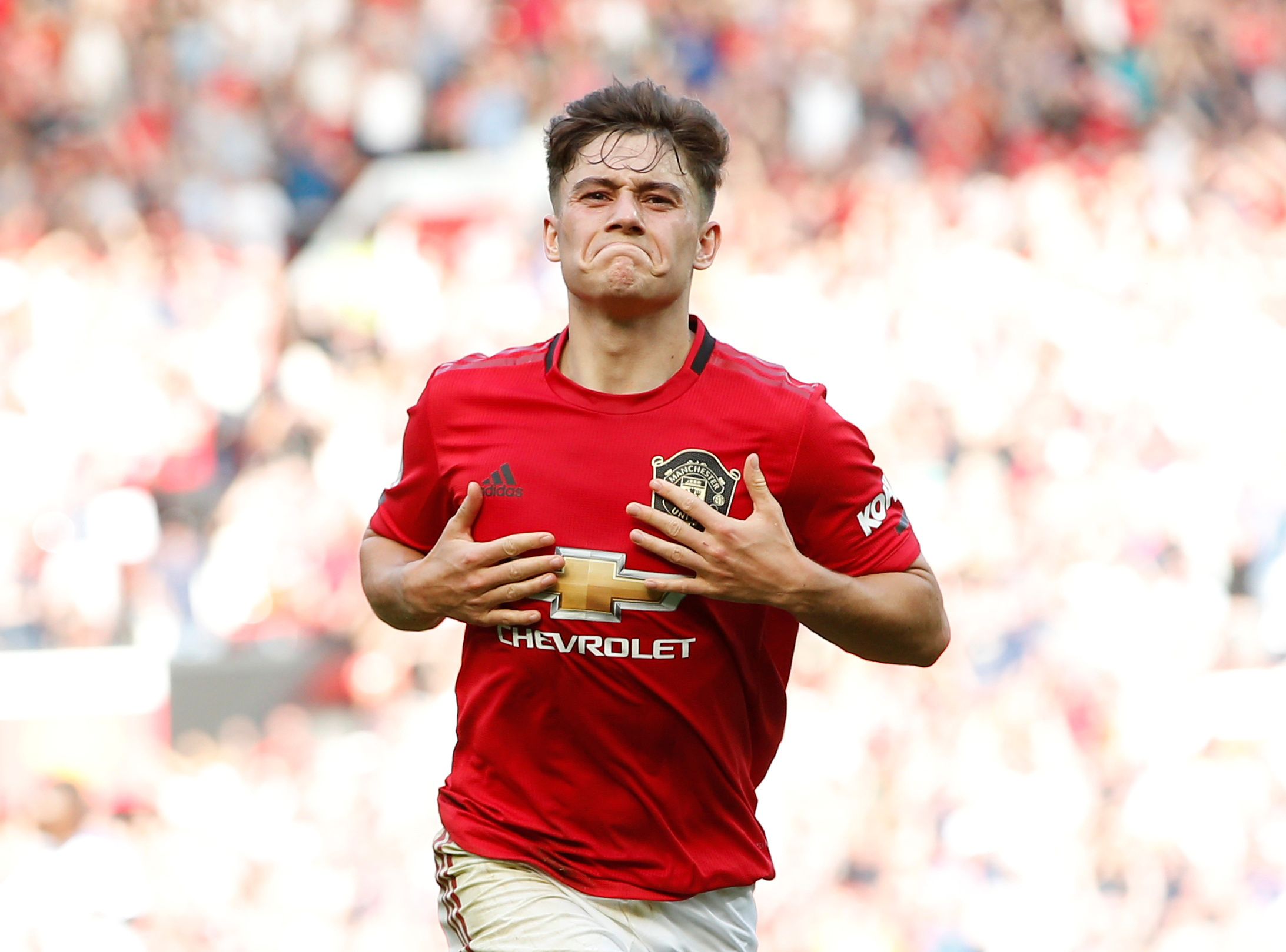 Daniel James can equal Solskjaer's own goalscoring record at United