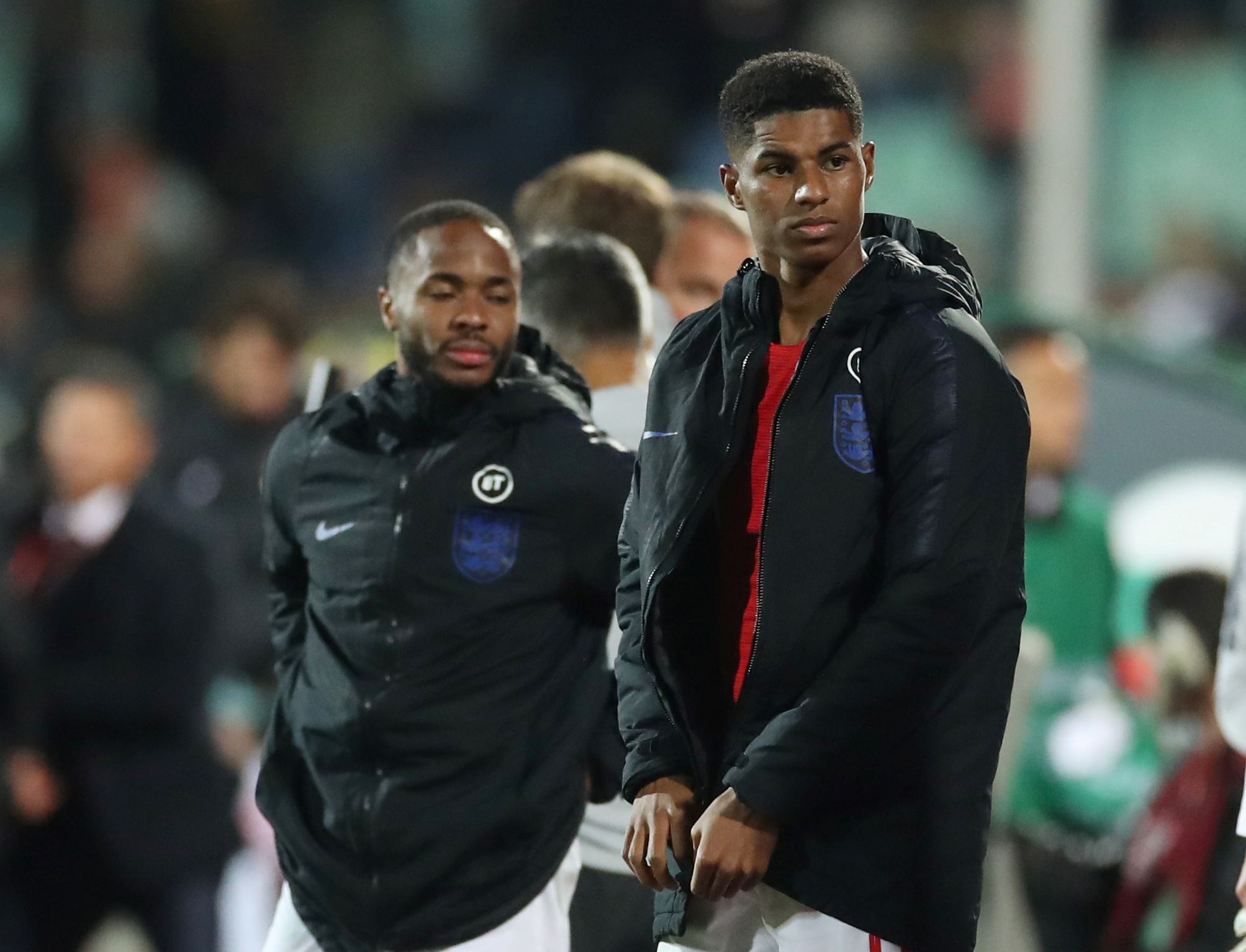 Rashford involved again in racist incident