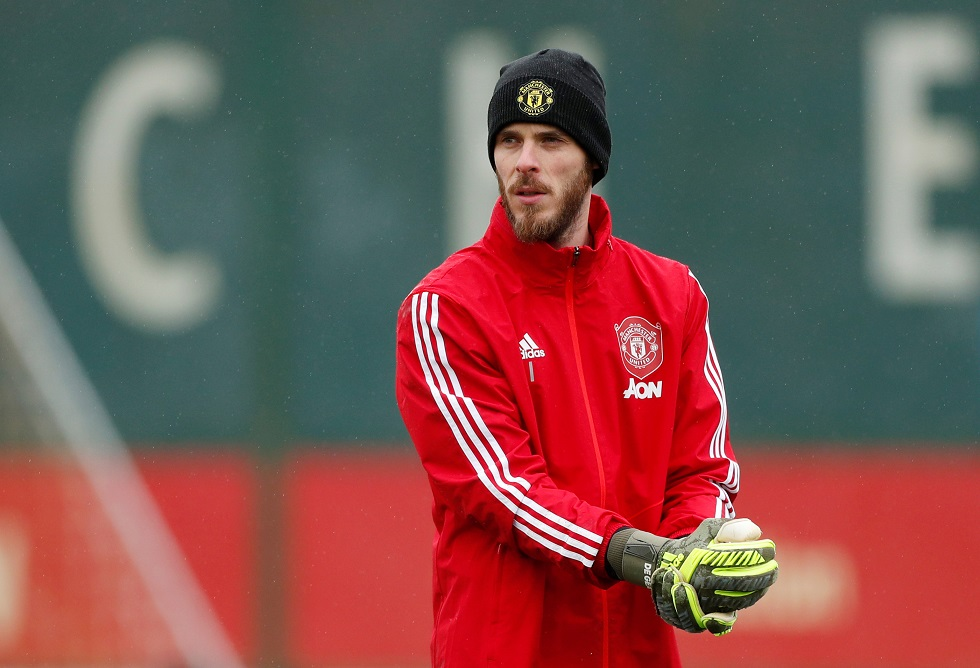 David De Gea Issues Winning Challenge To His Manchester United Teammates