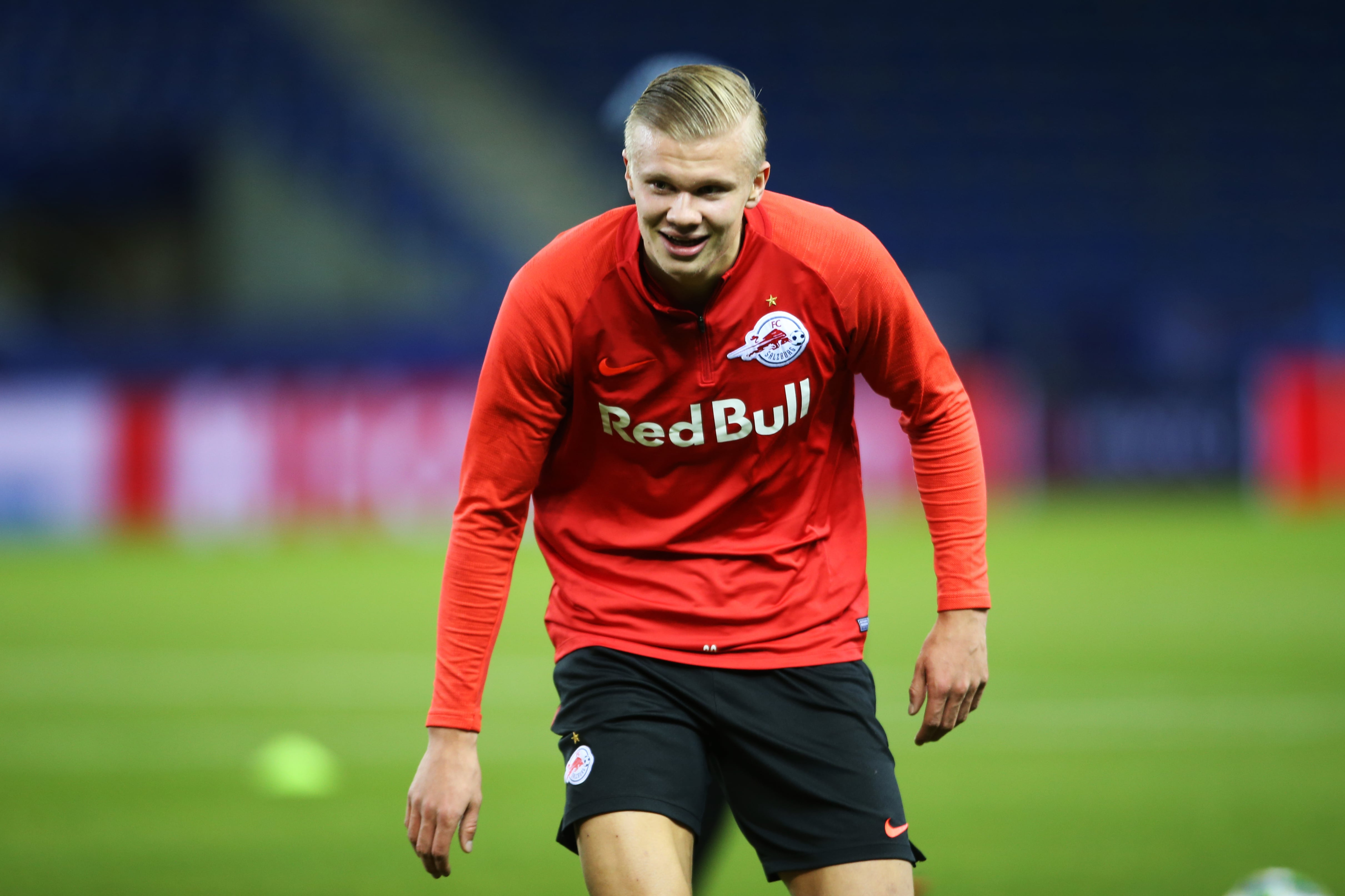 Manchester United firm favorites to land Erling Haaland