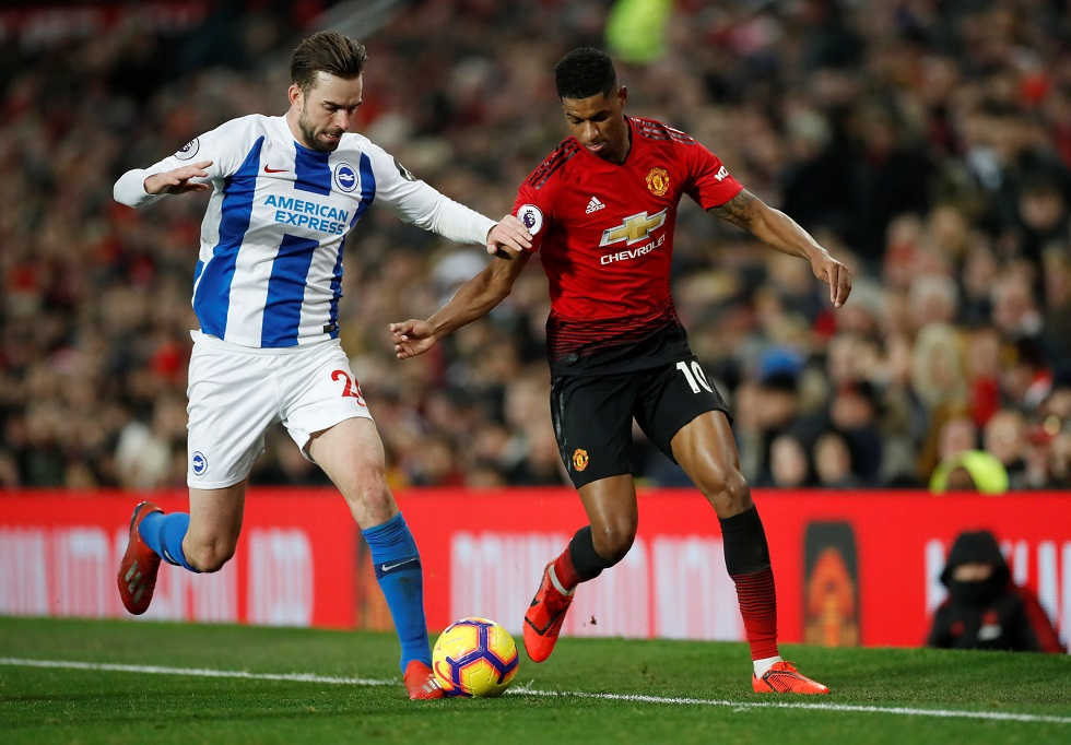 Manchester United vs Brighton Head To Head Results & Records (H2H)