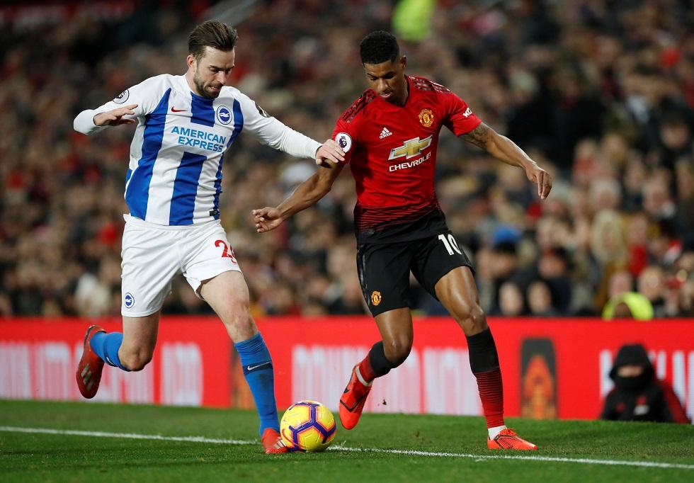 Manchester United vs Brighton Head To Head Results & Records (H2H)