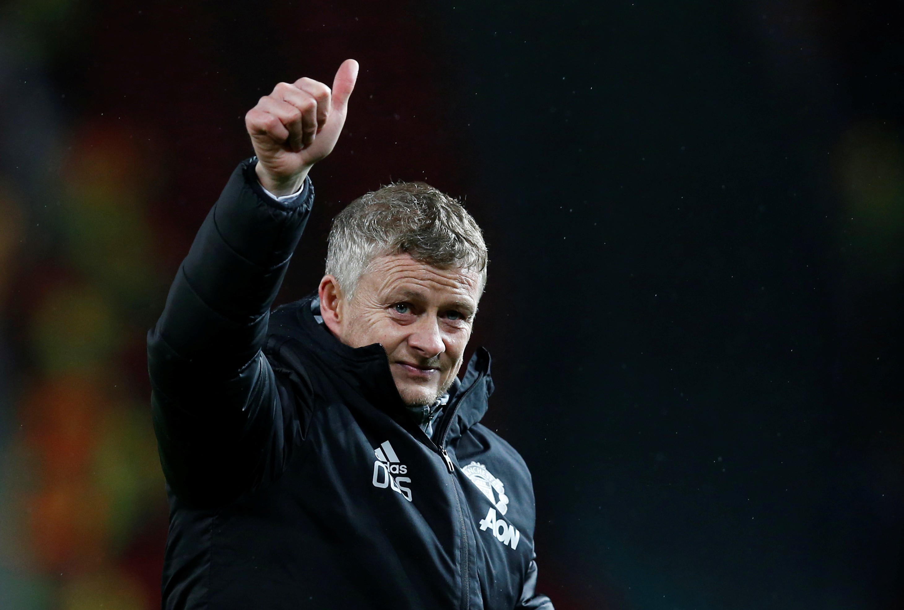 Marcus Rashford backing Solskjaer to lead United