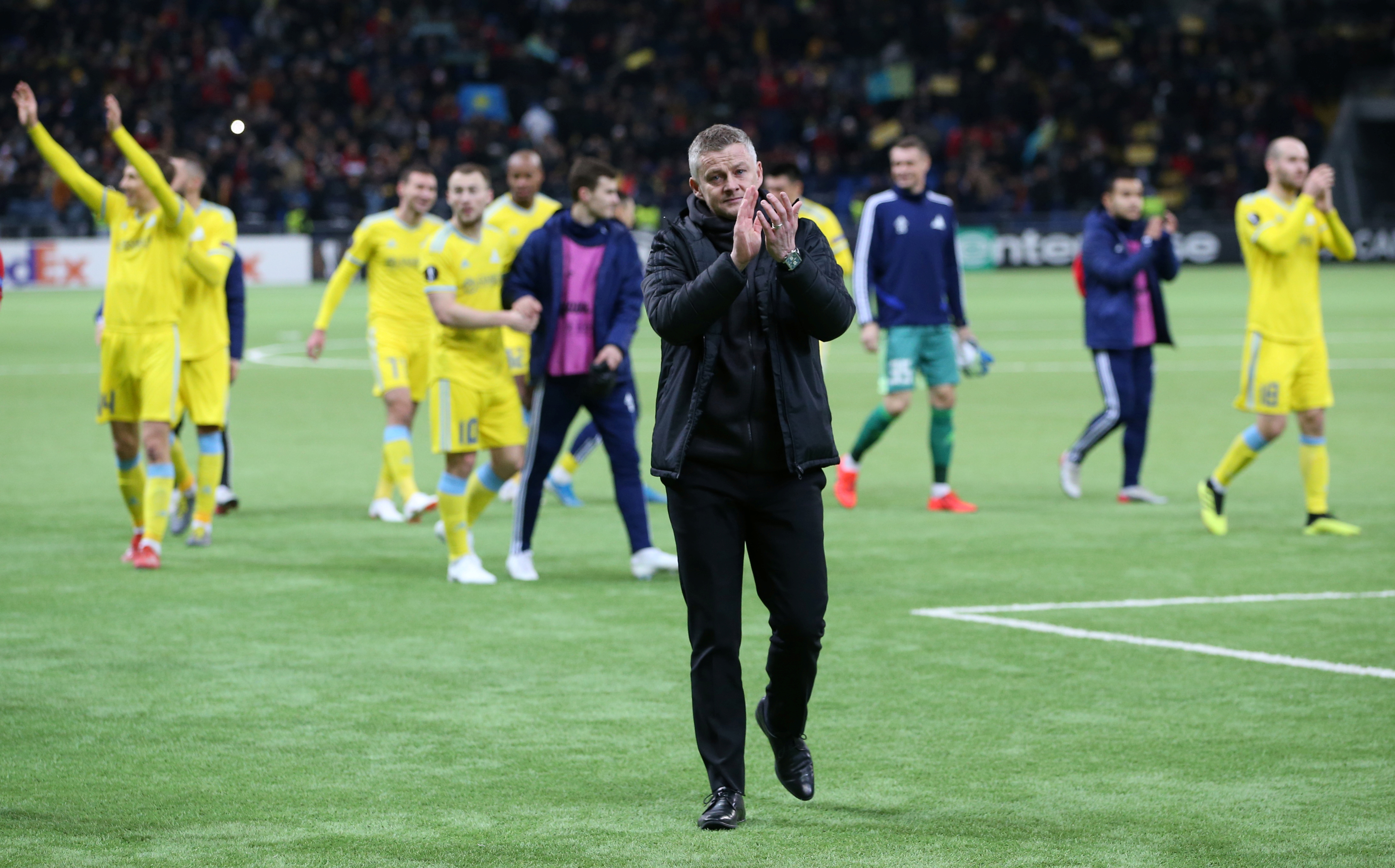 Ole excited with excellent youngsters in Astana defeat