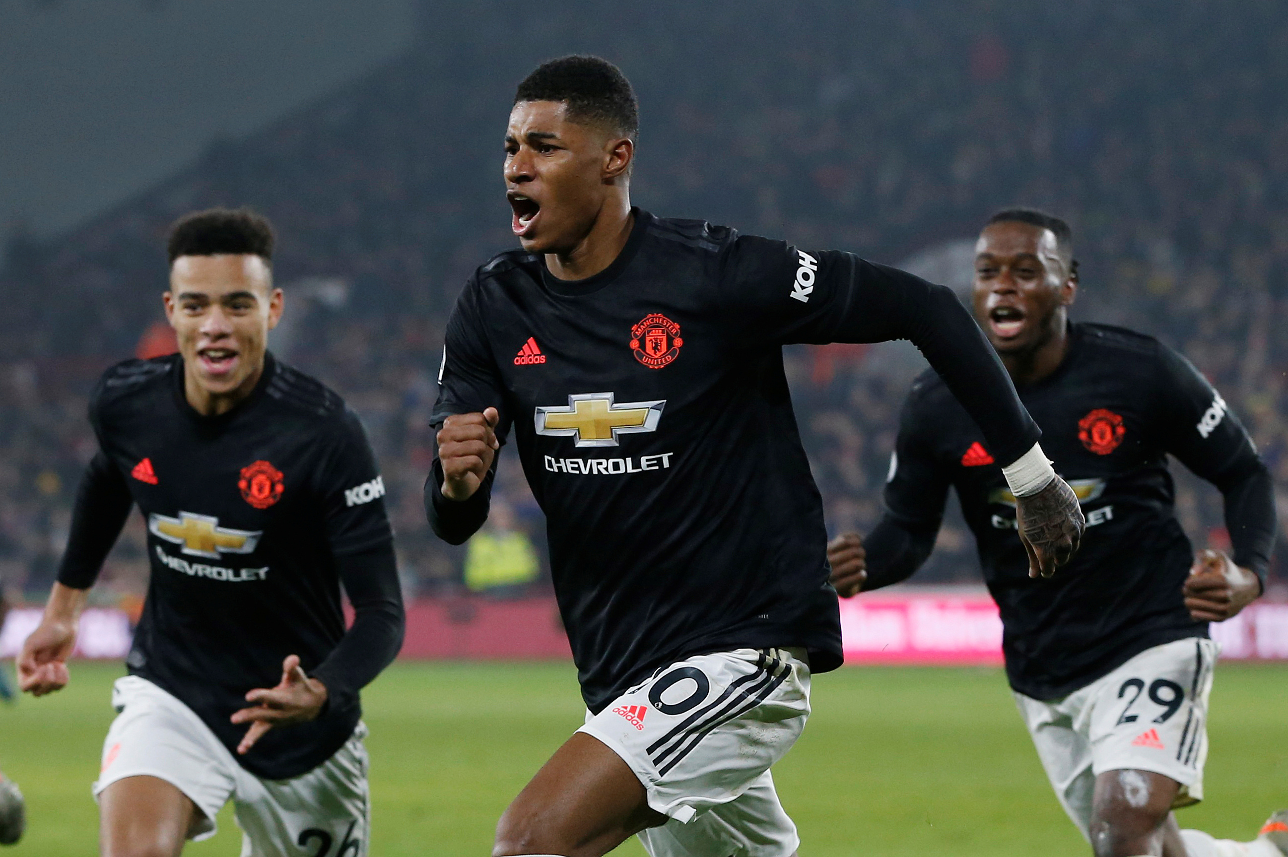 Rashford confident Manchester United are learning and improving