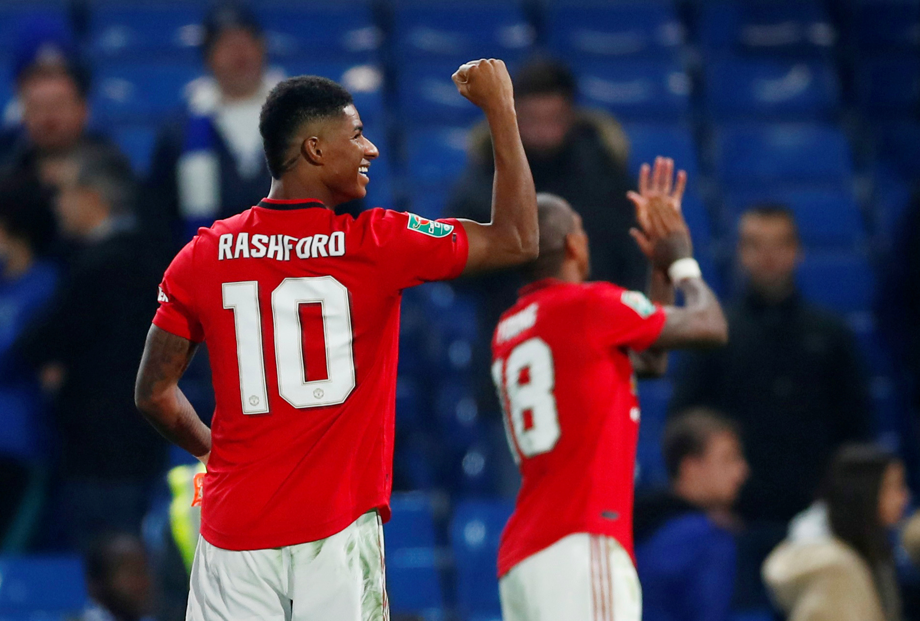 Rashford feels United are going places