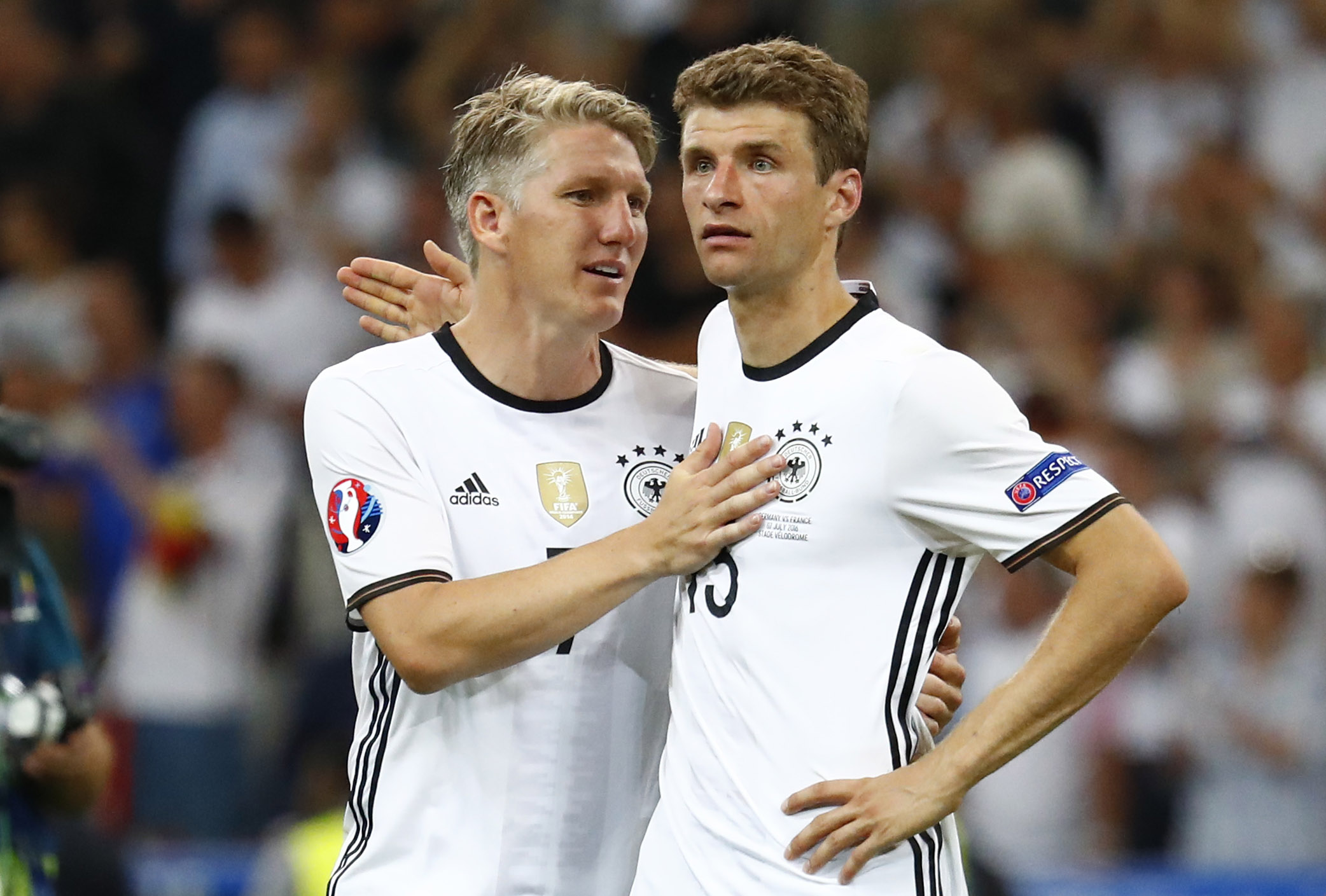 Schweinsteiger lifts lid on previous Manchester United interest in Thomas Muller