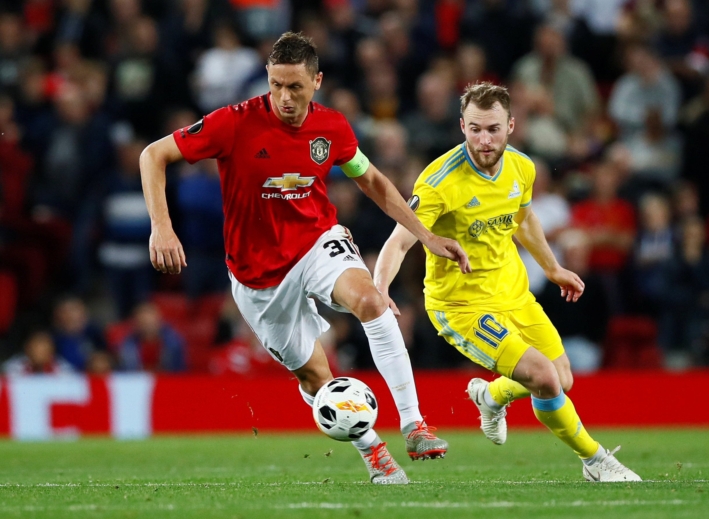 Want-away man Nemanja Matic plotting departure from Manchester United